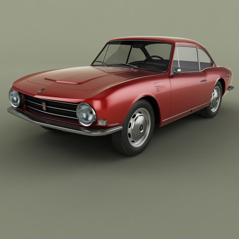 3D model 1965 osi 1200 coupe