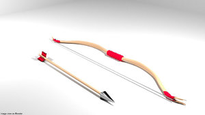 arrow bow reflex 3D