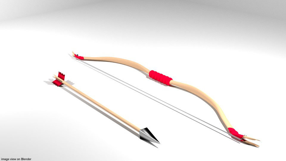 arrow bow reflex 3D