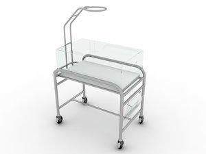 3D baby crib bed