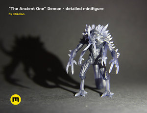 3D ancient demon character modelling model