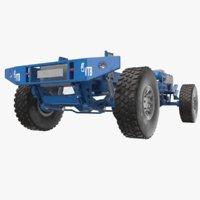 truck frame games 3D model