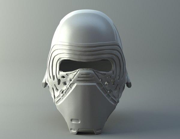 3D model star wars kylo ren