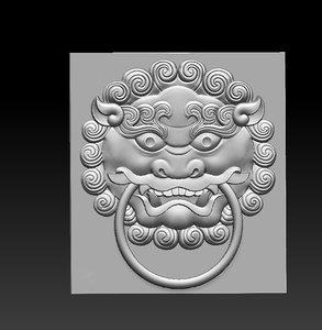 knock knocker 3D model