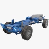 3D truck frame games