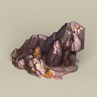 3D ready stone rock