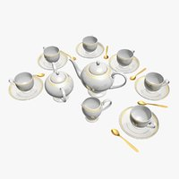 tea service 3D model