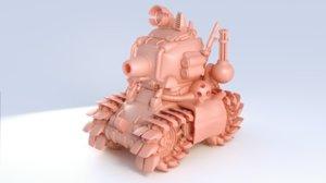 3D print metal slug