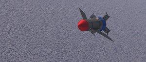 3D model 1 thunderbirds original