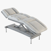 hospital couch 3D model