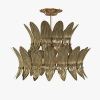 3D arteriors analise tier chandelier