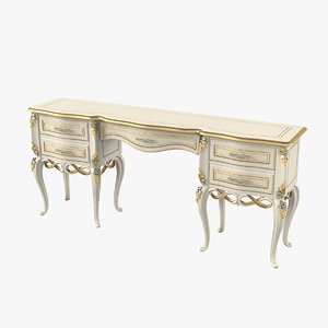 3D signorini coco dressing table model