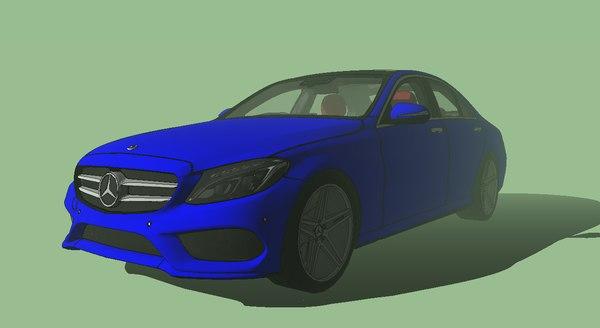 mercedes-benz c250 amg 3D model