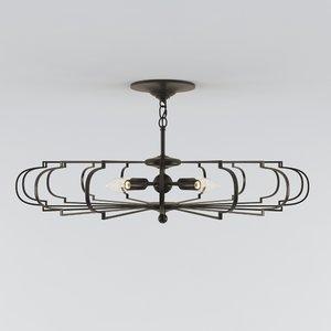 3D bascom chandelier model