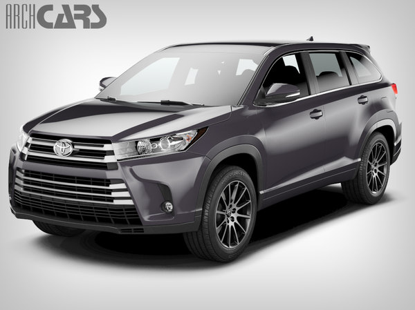 3D model toyota highlander