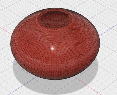 vase simple model