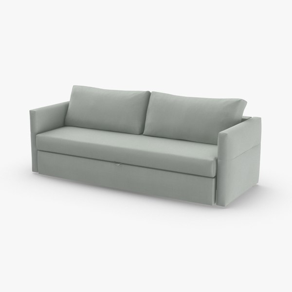 3D model scandinavian-4-seater-sofa