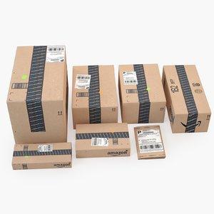 amazon parcels model