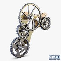3D gear mechanism v 4