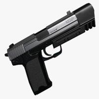 usp match 3D model
