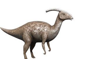 3D model dinosaur animation