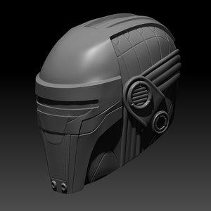 revan helmet 3D model