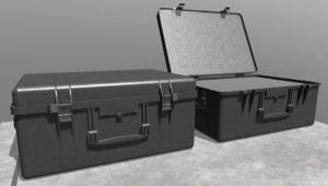 3D model weapon case