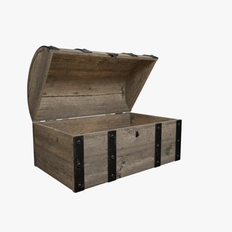 treasure chest model