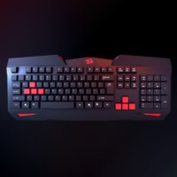redragon keyboard 3D model