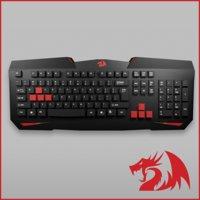 redragon keyboard 3D model