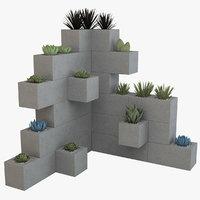 diy planter 3D model
