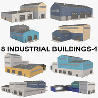 building industrial d 3D