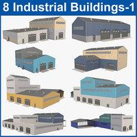 building industrial d 3D