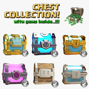 3D clash chest