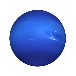 3D planet neptune