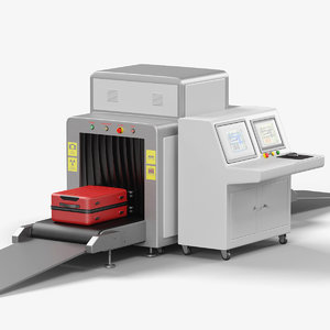 x-ray baggage belt scanner 3D