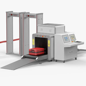 3D airport security checkpoint