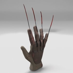 3D glove freddy new
