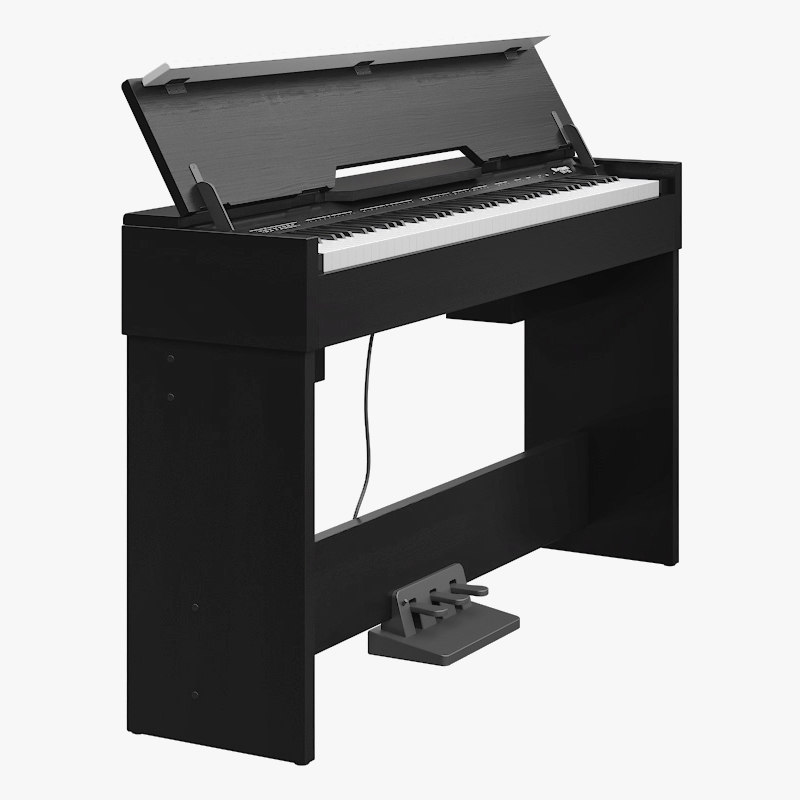 piano music instruments 3D