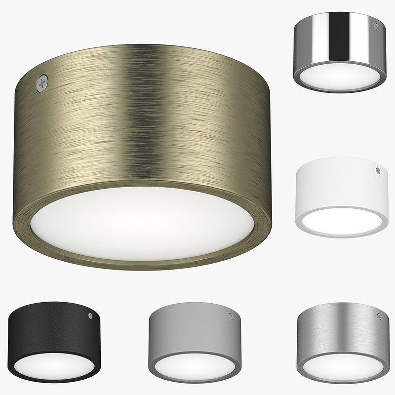 3D model ceiling lamp 21392x zolla