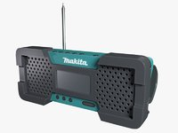 makita radio 3D model