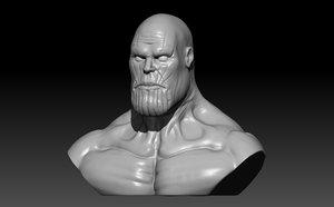 thanos 3D model