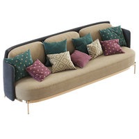 sofa seats 3D model