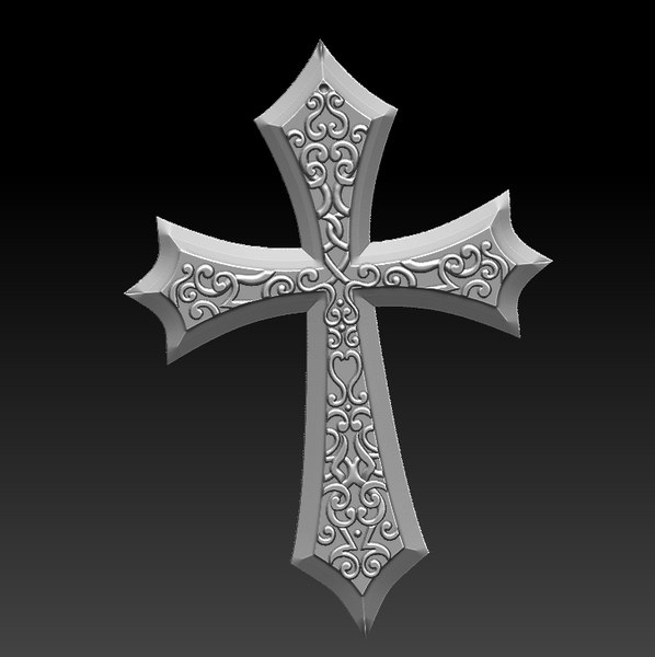 3D model cross