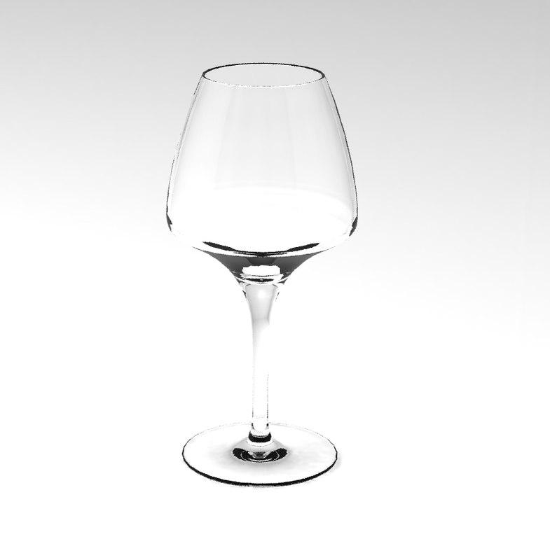 mikasa oenology glass wine 3D model