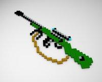 sniper pixel 3D