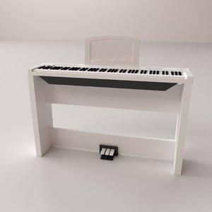 3D electronic keyboard v2