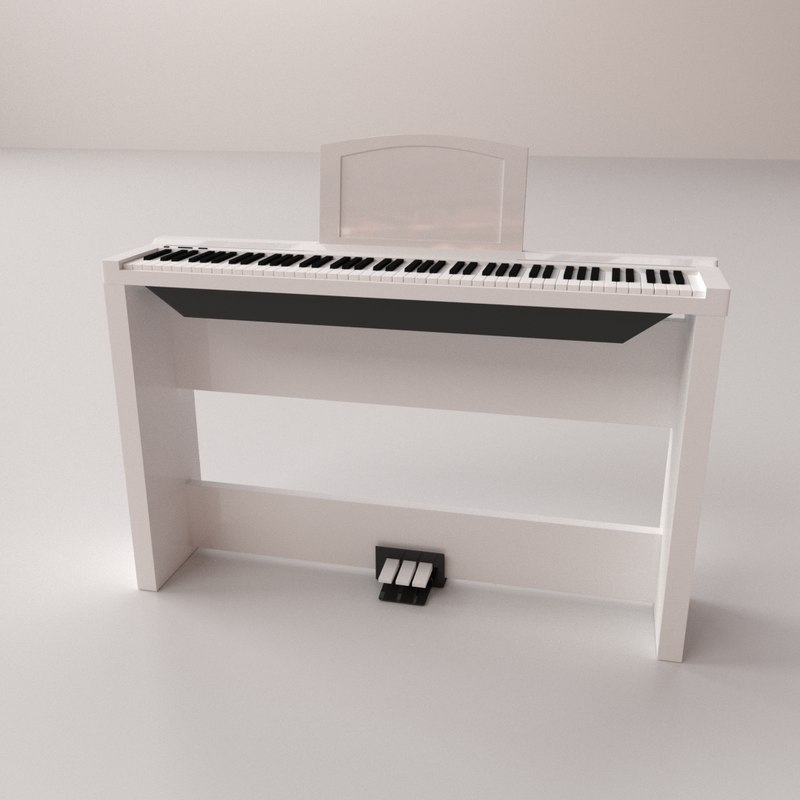 3D electronic keyboard v2
