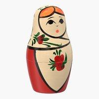 3D russian doll