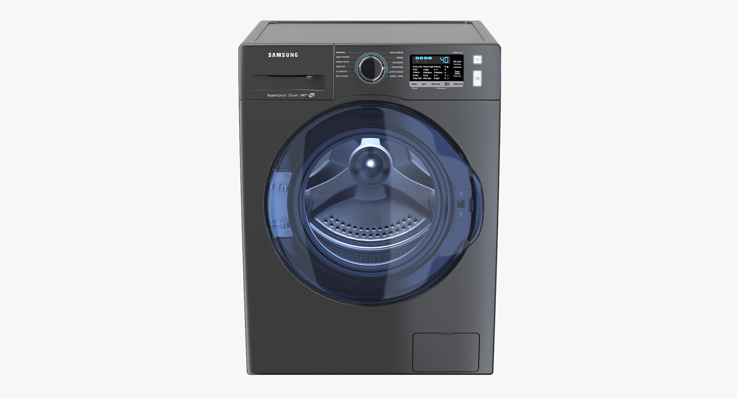 3D inox samsung ww6800 washing machine